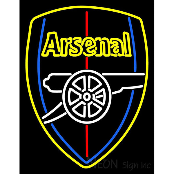 Arsenal Logo Neon Sign