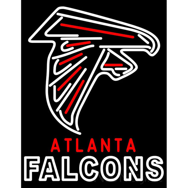 Atlanta Falcon 2003 Pres NFL Alternate Logo Neon Sign