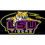 Awesome Lsu Tigers Logo Neon Sign