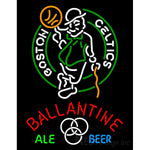 Ballantine Boston Celtics NBA Neon Beer Sign