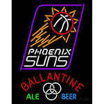Ballantine Phoenix Suns NBA Neon Beer Sign