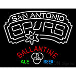 Ballantine San Antonio Spurs NBA Neon Beer Sign