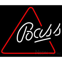 Bass Triangle Neon Beer Sign 24x24