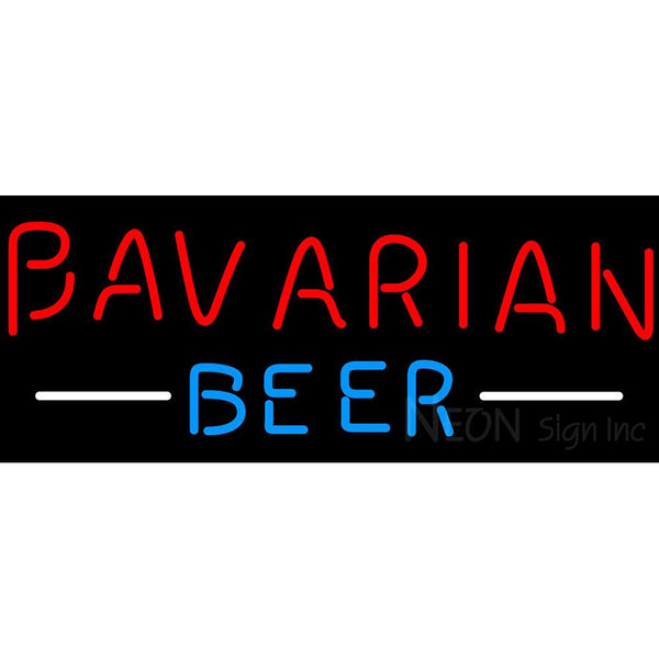 Bavarian Red Neon Beer Sign