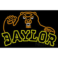 Baylor Bears Alternate 2005 Pres Logo NCAA Neon Sign 4