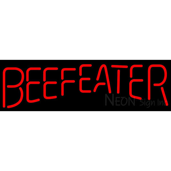 Beefeater Neon Beer Sign