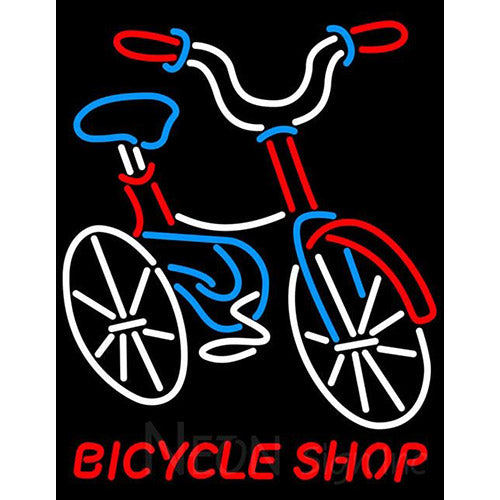 Bicycle Shop Neon Signs