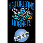 Blue Moon New Orleans Hornets NBA Neon Sign