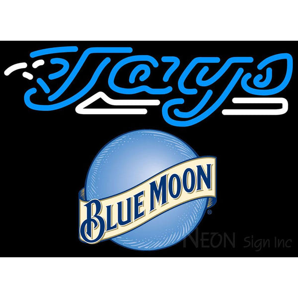 Blue Moon Rounded Toronto Blue Jays MLB Neon Sign 3 0003