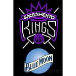 Blue Moon Sacramento Kings NBA Neon Sign