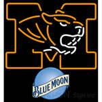 Blue Moon UNIVERSITY Of Missouri Neon Sign 4 0024