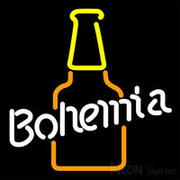 Bohemia Bottle Neon Sign 16x16