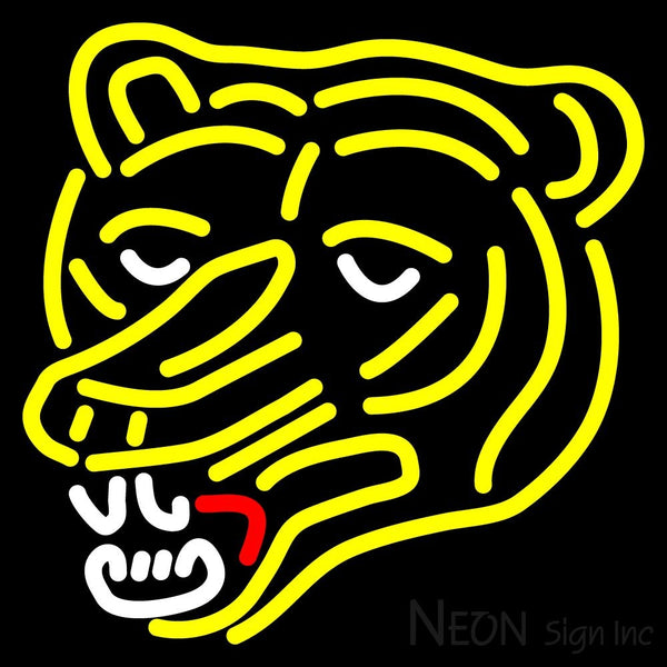 Boston Bruins Alternate 1976 77 1994 95 Logo  NHL Neon Sign 1 16x16