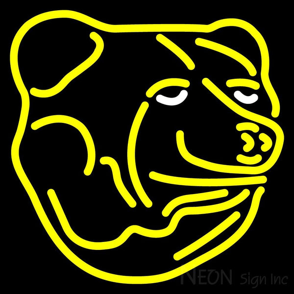Boston Bruins Alternate 1995 96 2006 07 Logo  NHL Neon Sign 1 16x16