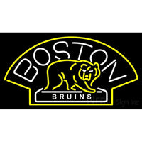 Boston Bruins Alternate 2007 08 Pres Logo  NHL Neon Sign 1