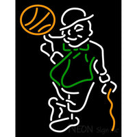 Boston Celtics Alternate 1995 96 Pres Logo NBA Neon Sign