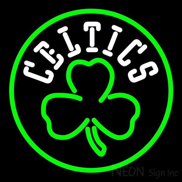 Boston Celtics Alternate Logo Neon Sign