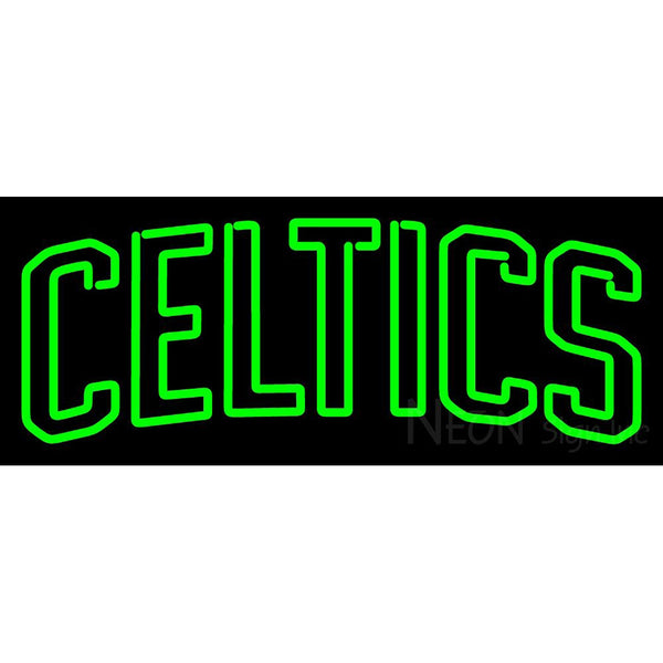 Boston Celtics Wordmark 1946 47 Pres Logo NBA Neon Sign