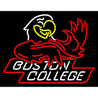 Boston College Eagles Mascot 2001 Pres Logo NCAA Neon Sign 1