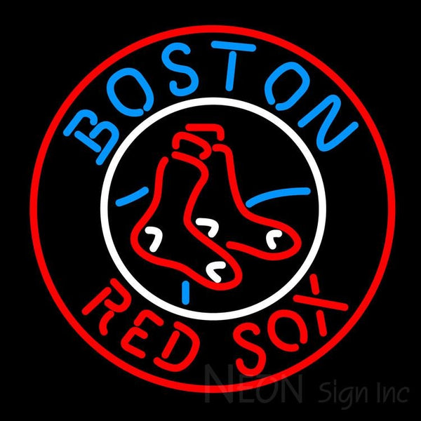 Boston Red Sox MLB Neon Sign