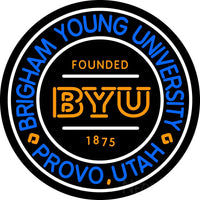 Brigham Young University Neon Sign