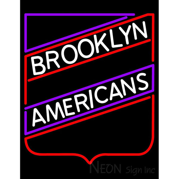 Brooklyn americans neon sign 1
