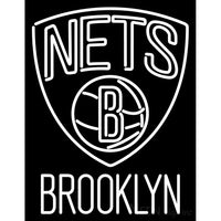 Brooklyn Nets NBA Logo Neon Sign