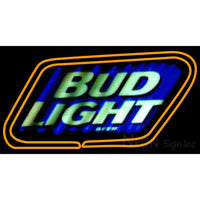 Bud Light 2 Neon Beer Sign