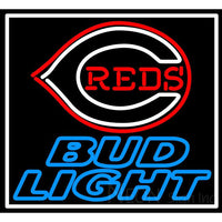 Bud Light Cincinnati Reds Neon Sign 1