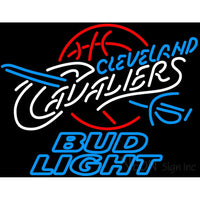 Bud Light Cleveland Cavaliers NBA Neon Sign