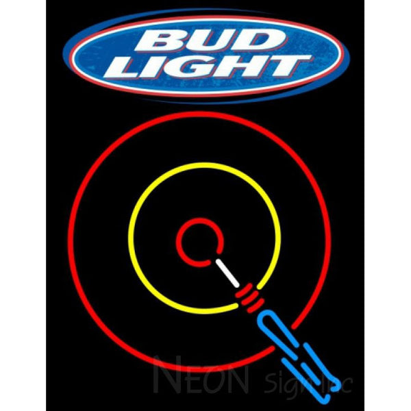 Bud Light Darts Neon Sign 11 0001