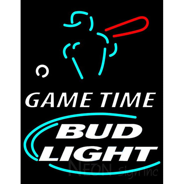 Bud Light Game Time Neon Beer Sign