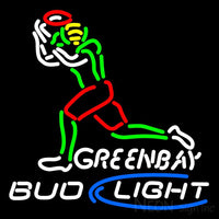 Bud Light Green Bay Neon Sign