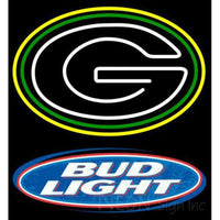 Bud Light Green Bay Packers NFL Neon Sign 1 0001