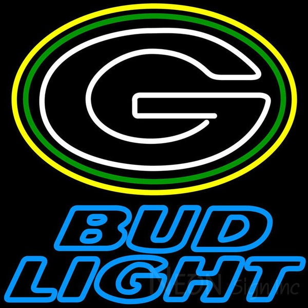 Bud Light Green Bay Packers NFL Neon Sign