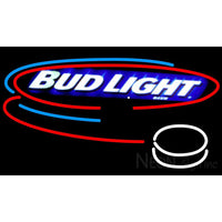 Bud Light Hockey Neon Beer Sign