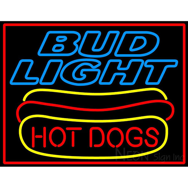 Bud Light Hotdogs Neon Sign 5