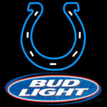 Bud Light Indianapolis Colts NFL Neon Sign 1 0002 24x24