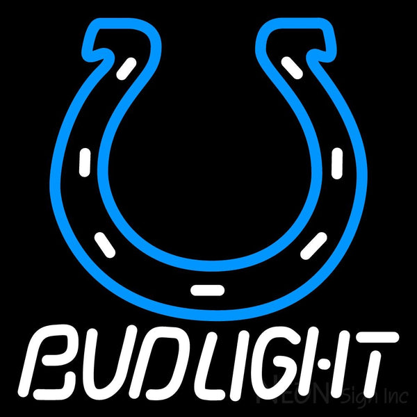 Bud Light Indianapolis Colts Nfl Neon Sign 1 16x16