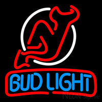 Bud Light Jersey Devil Neon Beer Sign
