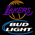 Bud Light Lakers Neon Beer Sign