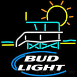 Bud Light Lifeguard Stand Neon Beer Sign