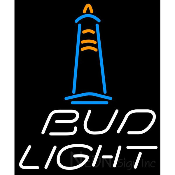 Bud Light Lighthouse Neon Sign