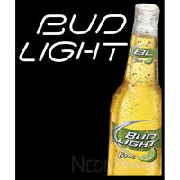 Bud Light Lime Pride Ad Neon Sign