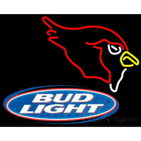 Bud Light Logo Arizona Cardinals NFL Neon Sign 1 0002