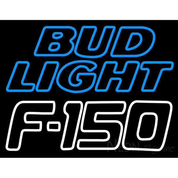 Bud Light Logo And Ford 150 Automotive Neon Sign Neon Sign Inc