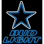 Bud Light Neon Dallas Cowboys NFL Neon Sign 1 0002