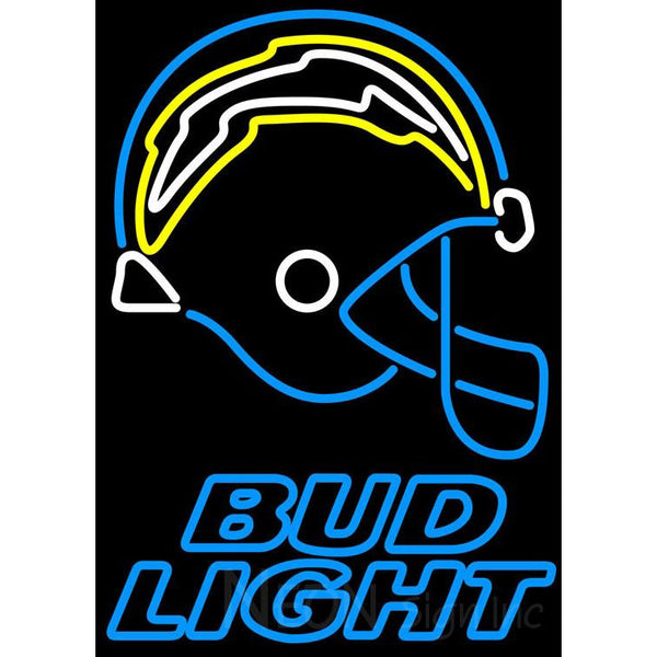 Bud Light San Diego Chargers NFL Neon Sign