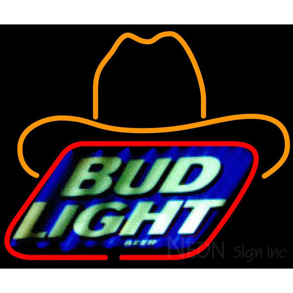 Bud Light Small George Strait Neon Beer Sign 24x20