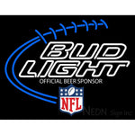 Bud Light With NFL Logo Neon Sign 1